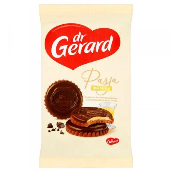 dr Gerard Pasja Herbatniki z kremem o smaku advocat i czekoladą 170 g