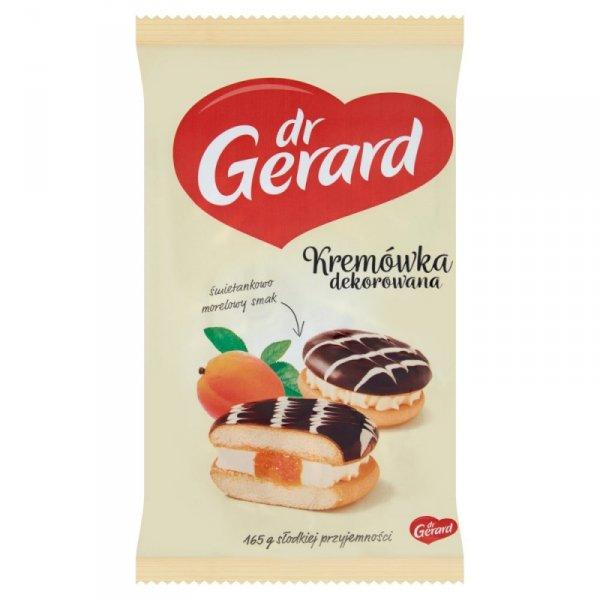dr Gerard Kremówka dekorowana śmietankowo morelowy smak 165 g