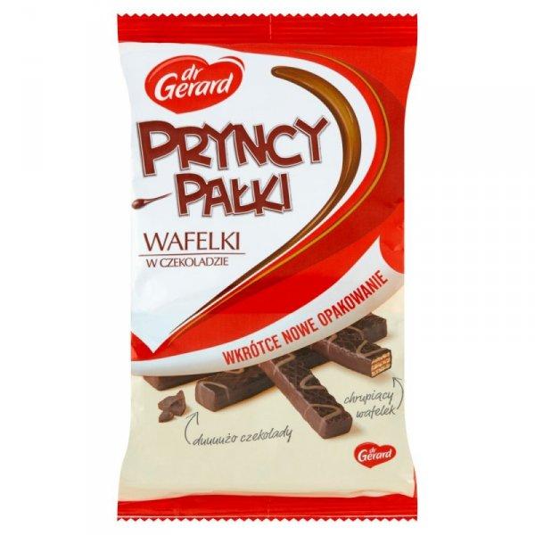 dr Gerard PryncyPałki Wafelki z kremem kakaowym w czekoladzie 235 g
