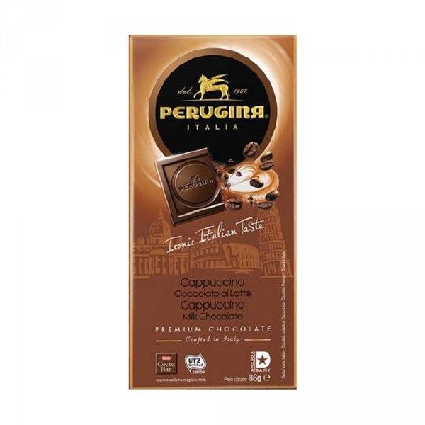 Perugina czekolada mleczna z granulkami cappuccino 86 g