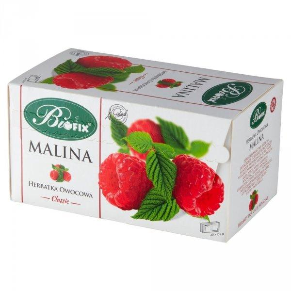 BIFIX Classic Herbatka owocowa Malina 20 torebek 50g