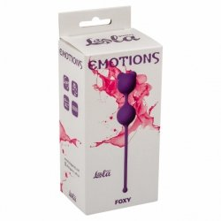 Vaginal balls Emotions Foxy Purple