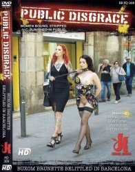 DVD-PUBLIC DISGRACE Buxom Brunette Belittled in Barcelona