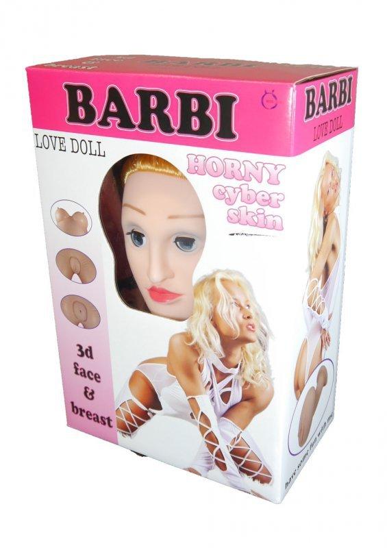 Lalka-BARBI- 3D
