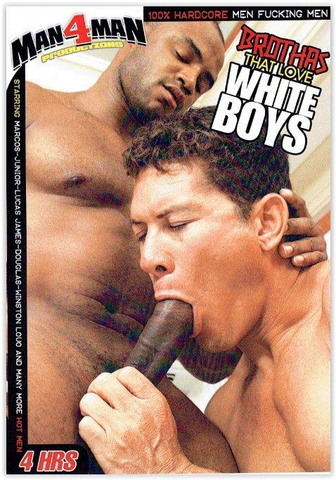 DVD-Brothas That Love White Boys