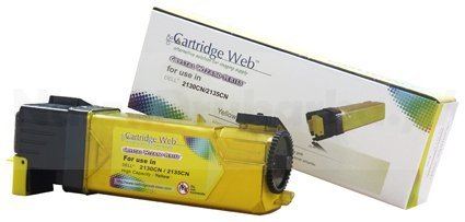 Toner Cartridge Web Yellow Dell 2130 zamiennik 593-10314/330-1391