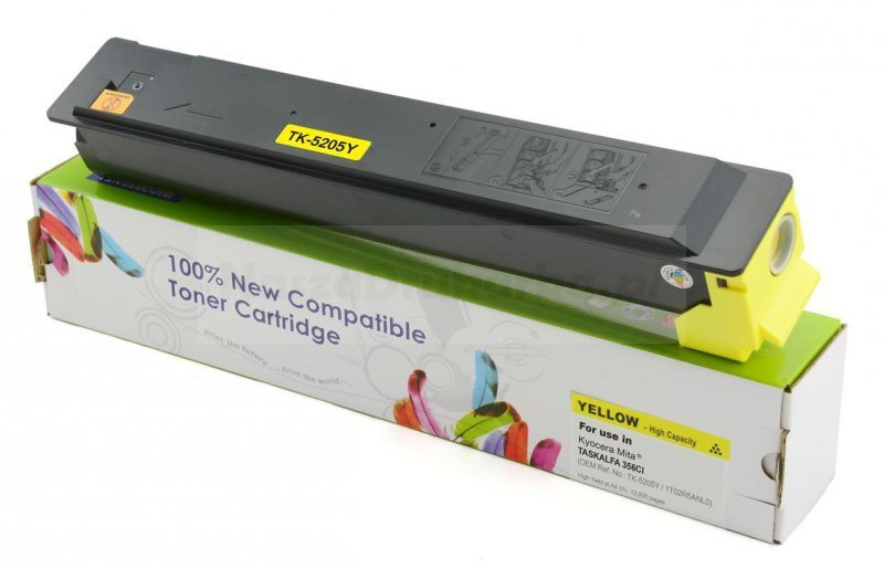 Toner Cartridge Web Yellow Kyocera TK5205 zamiennik TK-5205Y