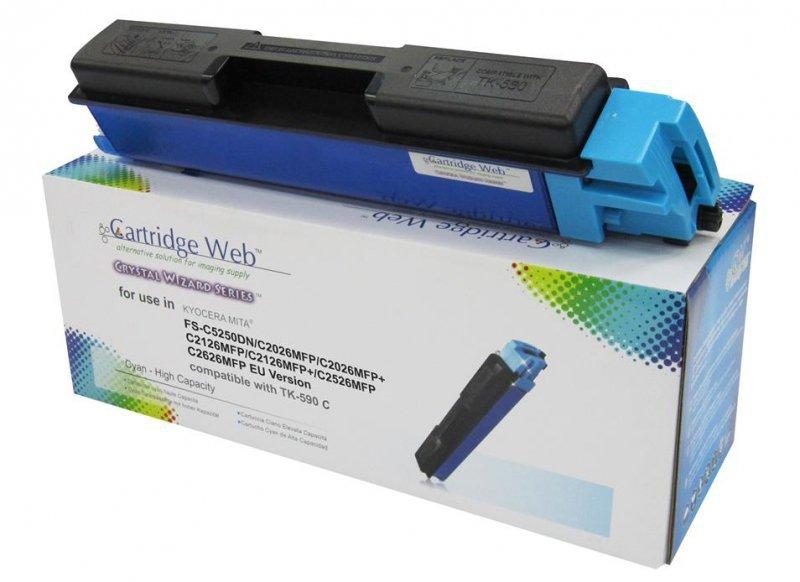 Toner Cartridge Web Cyan Kyocera TK590 zamiennik TK-590C