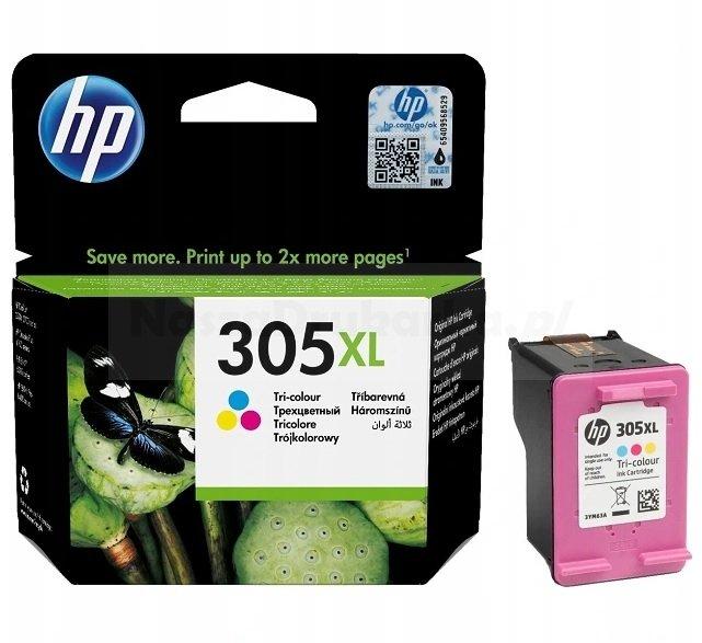 Tusz oryginalny HP 305XL kolor