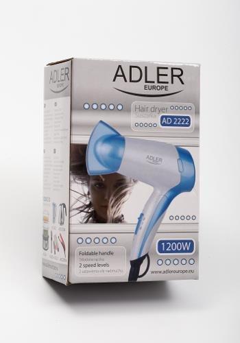 Suszarka do włosów Adler AD 2222 (1200W; kolor biały)