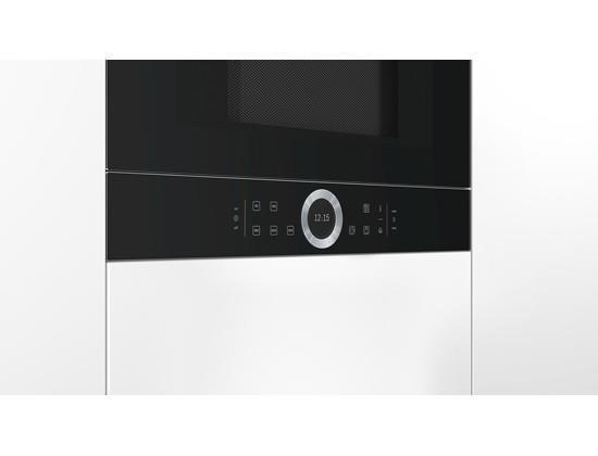 Kuchenka mikrofalowa BOSCH BFL634GB1 (900W; 21l; kolor czarny)