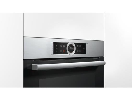 Piekarnik elektryczny BOSCH HBG635BS1 (Elektroniczne / sensorowe; Czarny)