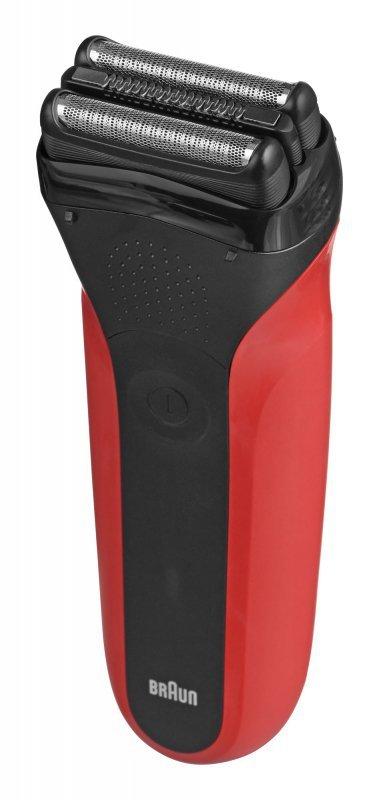 Golarka męska BRAUN Series 3 300S red