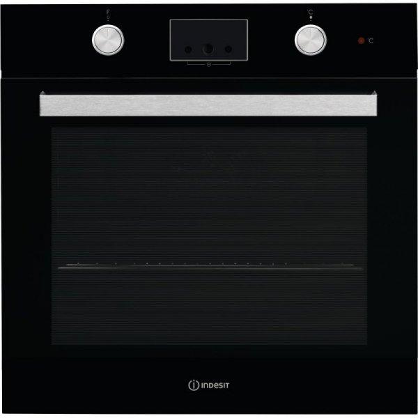 Piekarnik elektryczny Indesit IFW 65Y0 J BL (Mechaniczne; Czarny)