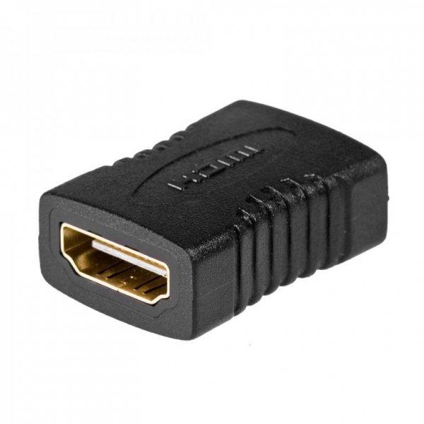 Adapter Akyga AK-AD-05 (HDMI F - HDMI F; kolor czarny)