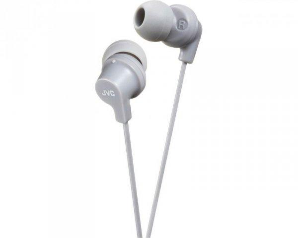 Słuchawki JVC HAFX10HE (dokanałowe; NIE; kolor szary