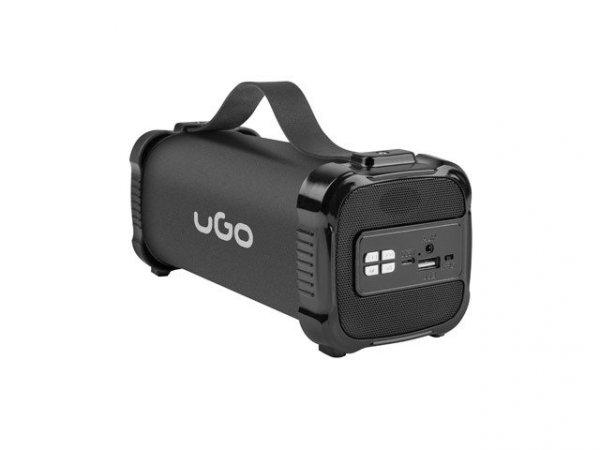 Głośnik bluetooth UGO Mini Bazooka 2.0 UBS-1484 (kolor czarny)