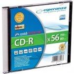 CD-R ESPERANZA SILVER - Slim 1 2008/2009