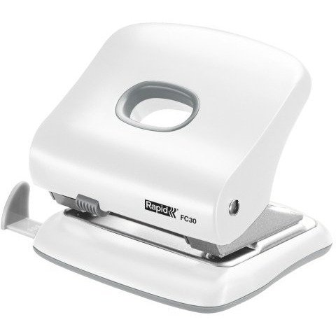 Dziurkacz RAPID FC30 30kartek biały 5000363