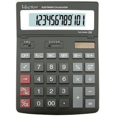 Kalkulator VECTOR DK206 12 pozycyjny
