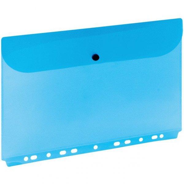 Teczka kopertowa wpinana zatrzask niebieska A4 ZP045A 120-1161 GRAND