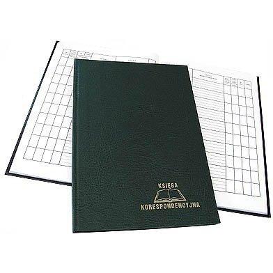 Ksiega korespondencyjna 96k zielona 229-008 WARTA