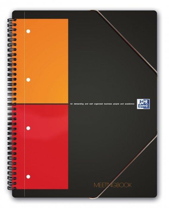 Kołonotatnik A4+ 80k kratka OXFORD Meetingbook International 100100362