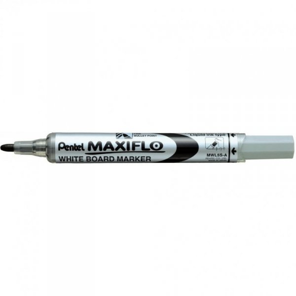 Marker suchościeralny MWL5S-A czarny PENTEL MAXIFLO(z tłoczkiem)