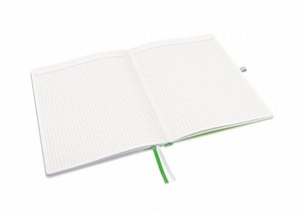 Notatnik LEITZ Complete rozmiar iPada 80k biały w kratkę 44730001