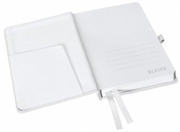 Notatnik twardy LEITZ STYLE A6 kratka Arktyczna biel 44910004