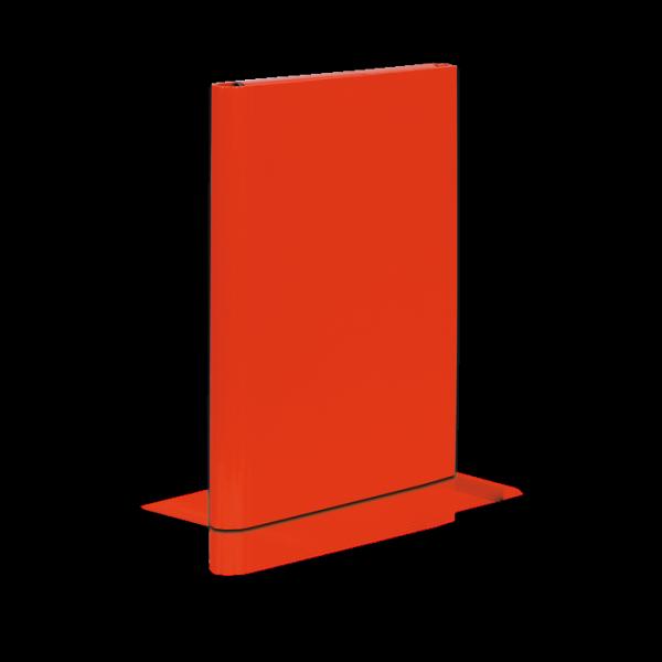 Teczka skrzydłowa na rzep CARIBIC czerwona 340/21 4cm VAUPE