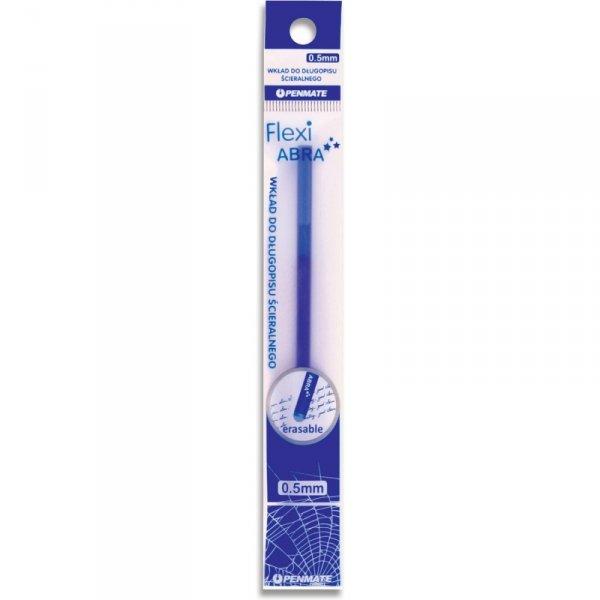 Wkład do długopisu ścieralnego FLEXI ABRA 0.5mm niebieski TT7279