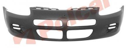 Zderzak Przedni ChryslerSTRATUS  00-05 czarny