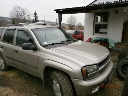 Chevrolet TRAILBLAZER 2003 PB +LPG