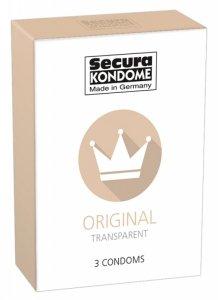 Prezerwatywy-Secura Original 3er