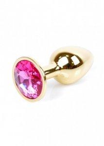 Plug-Jewellery Gold PLUG- Pink