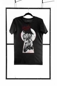 T-shirt men black S regular