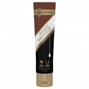 Krem do masturbacji - Bucked Wrangler Masturbation Cream Leather Scented 60 ml