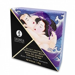 Sól do kąpieli - Shunga Oriental Crystals Bath Salts Single Use & Display Exotic Fruits 75