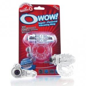 Pierścień erekcyjny - The Screaming O Owow Clear
