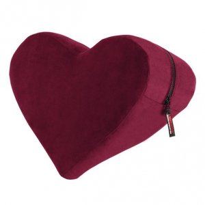 Liberator siedzisko do seksu ,kolor czerwony - Heart Wedge Merlot