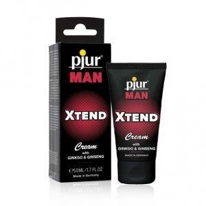 Żel intymny dla panów - Pjur Man Xtend Cream 50 ml