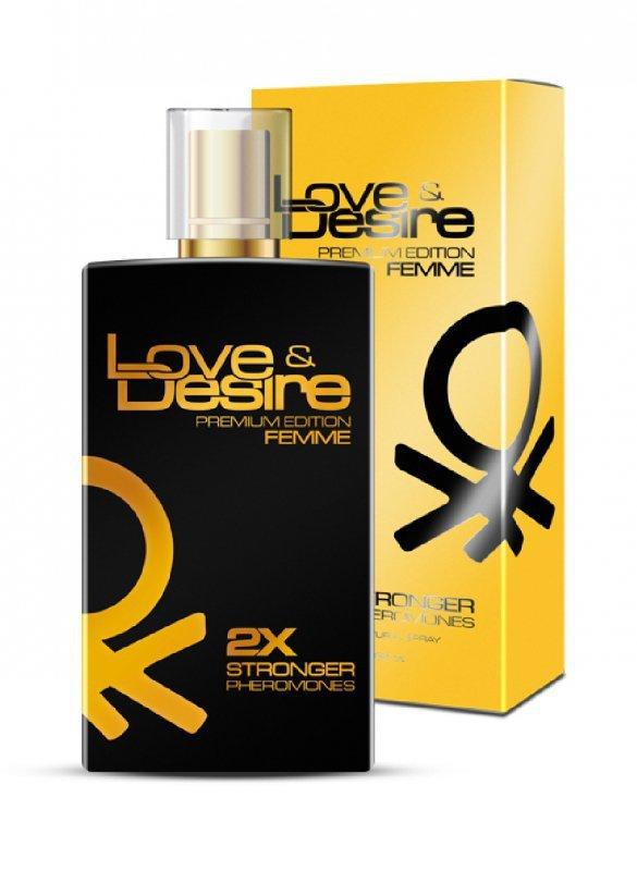 Feromony-Love Desire  GOLD women 100 ml