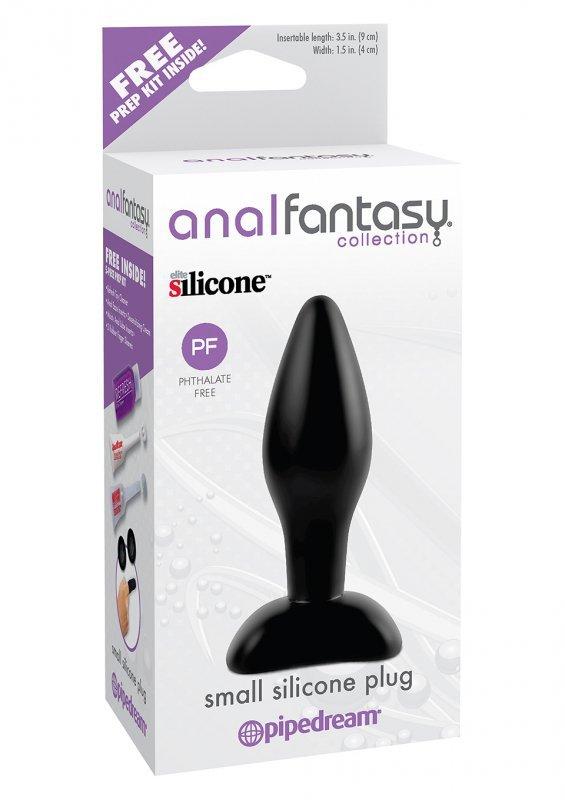 Plug-AFC-SMALL SILICONE PLUG BLACK