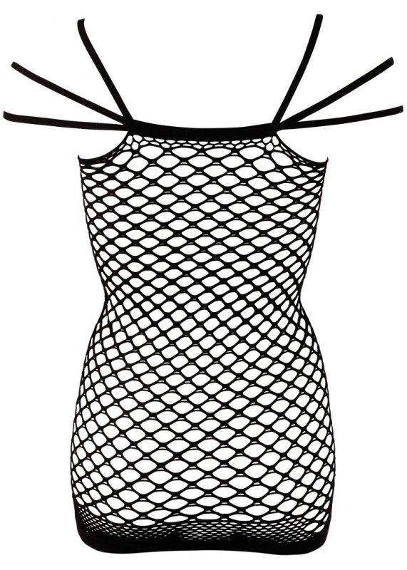 2014800000 Netzkleid Träger S-L-Sukienka z siateczki