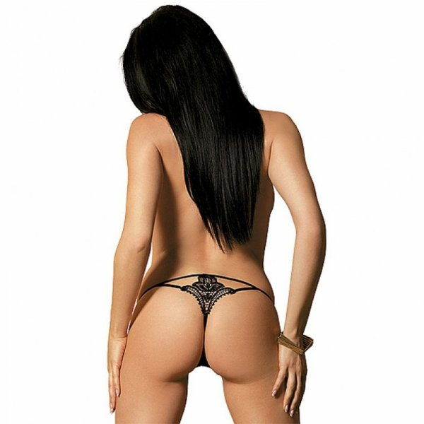 Stringi - Obsessive Luiza Thong Black L/XL