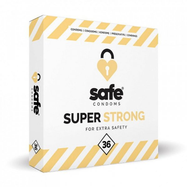 Prezerwatywy - Safe Super Strong Condoms 36 szt