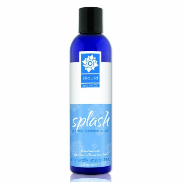 Płyn do higieny intymnej - Sliquid Balance Splash Unscented 255 ml