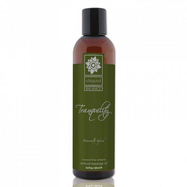Olejek do masażu - Sliquid Balance Massage Tranquility 255 ml