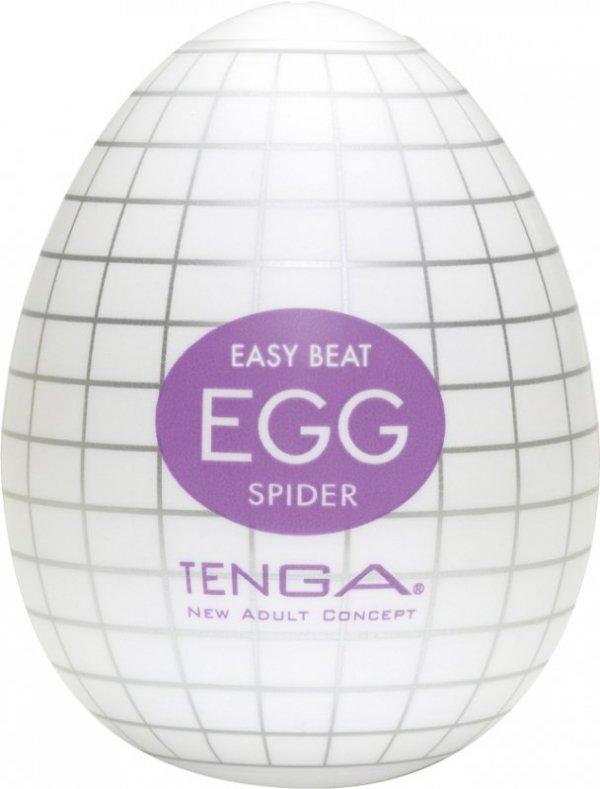 Tenga Egg Spider - Jajka do masturbacji Pajęczyna (6 szt.)